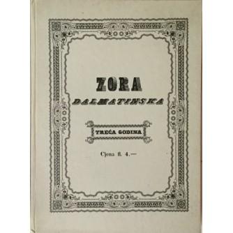 ZORA DALMATINSKA 1846. TREĆA GODINA